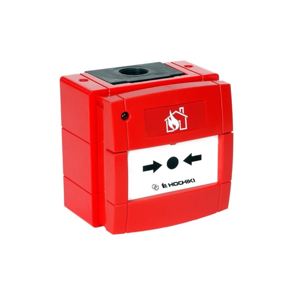 Buton de incendiu conventional rezistent la intemperii cu LED Hochiki CDX CCP-W(LED), IP67, ABS rosu imagine spy-shop.ro 2021