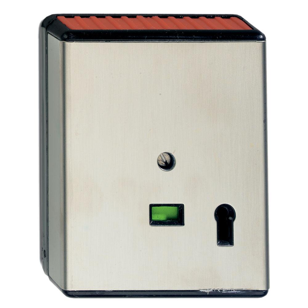 Buton de panica cu actionare mecanica UTC HB191, NC, LED, cheie reset