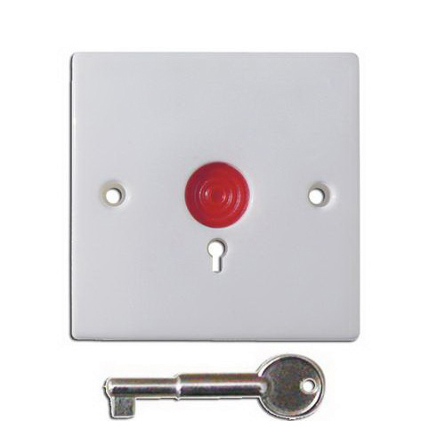 Buton de panica cu memorie mecanica PB-86, cheie, semi-ingropat, ABS imagine spy-shop.ro 2021