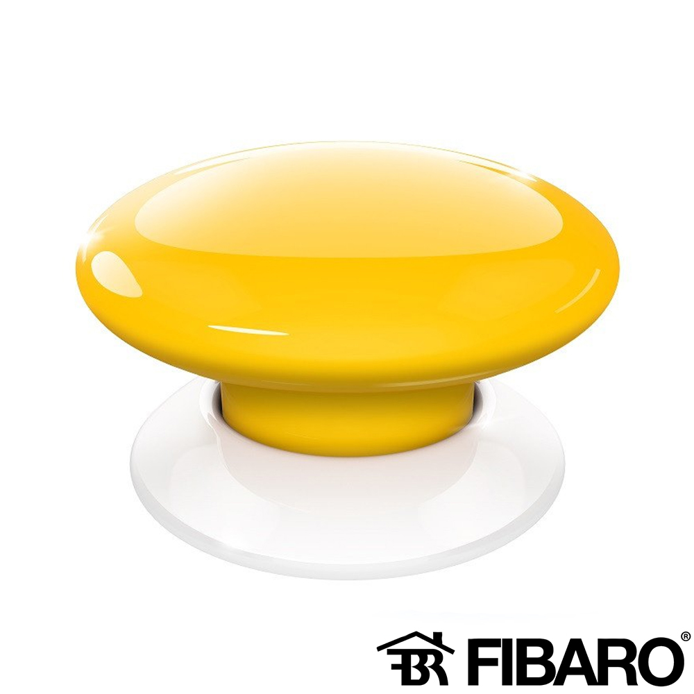 BUTON WIRELESS SMART HOME GALBEN FIBARO FGPB-101-4 ZW5