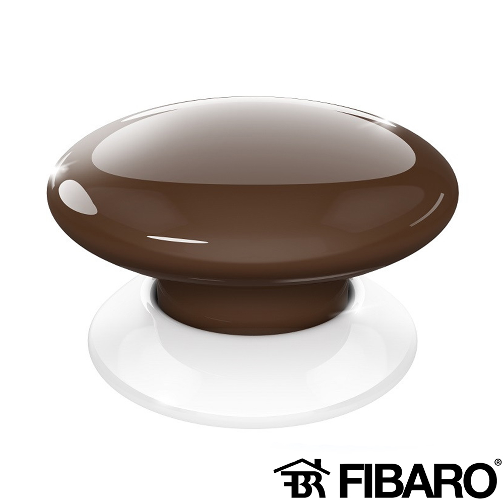 BUTON WIRELESS SMART HOME WENGE FIBARO FGPB-101-7 ZW5