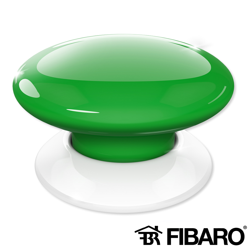 BUTON WIRELESS SMART HOME VERDE FIBARO FGPB-101-5 ZW5