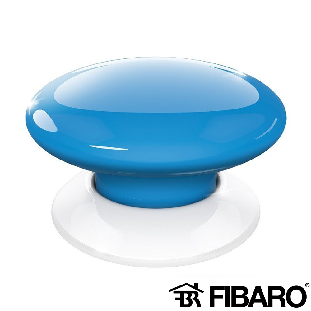 BUTON WIRELESS SMART HOME ALBASTRU FIBARO FGPB-101-6 ZW5