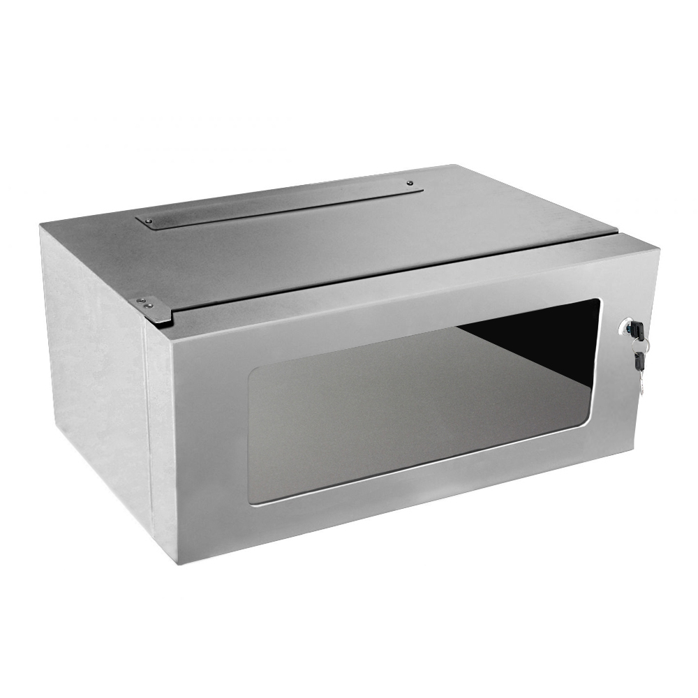 Cabinet metalic rack 19 inch SMP5304, 4U, IP20 imagine spy-shop.ro 2021