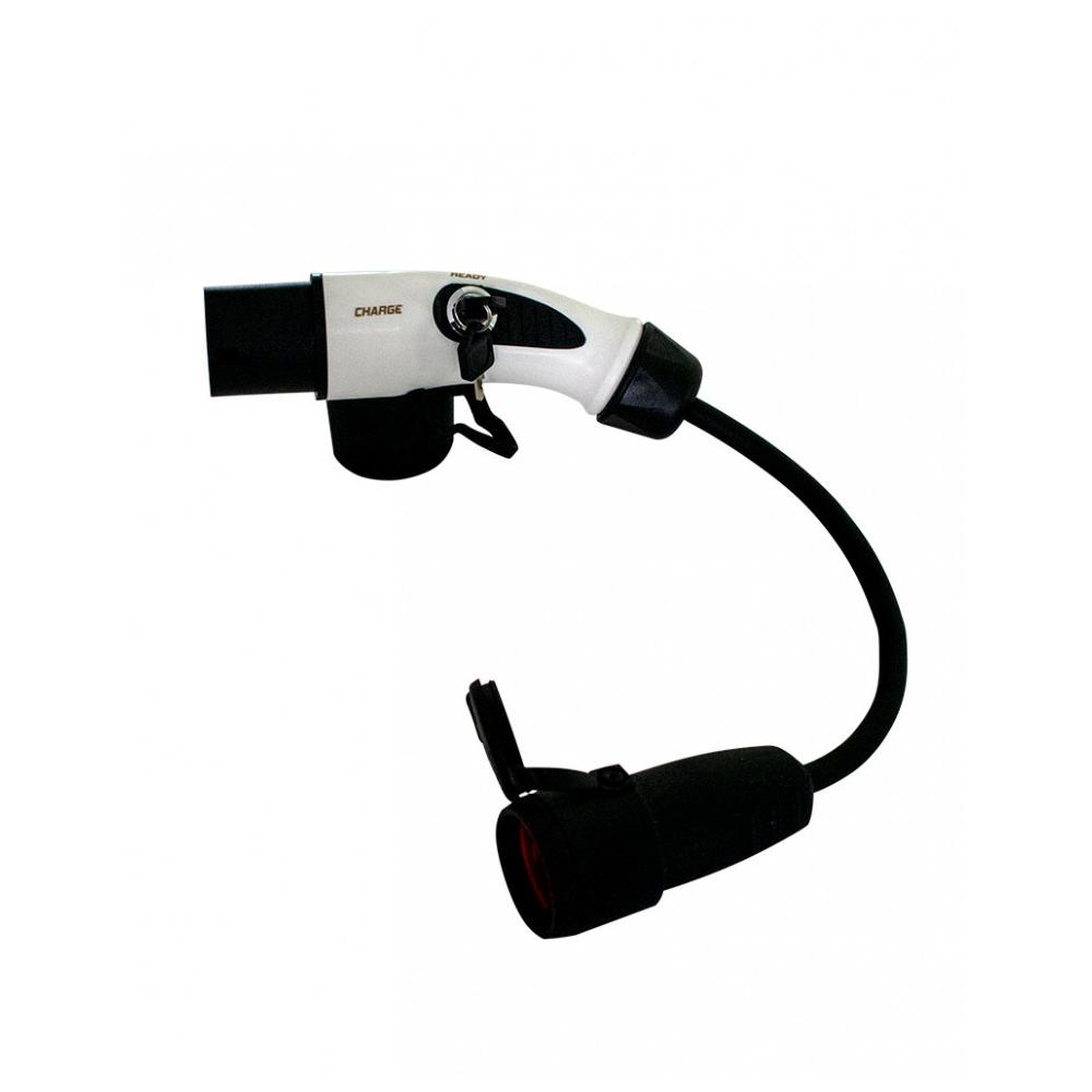 Cablu adaptor Type 2 la Schuko EV-MAG, monofazat, 16A imagine spy-shop.ro 2021