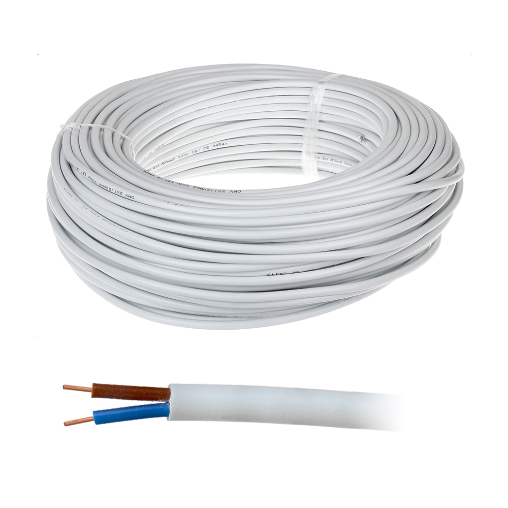 Cablu alimentare MYYUP 2x0.75, 2x0.75 mm, plat, rola 100 m imagine spy-shop.ro 2021