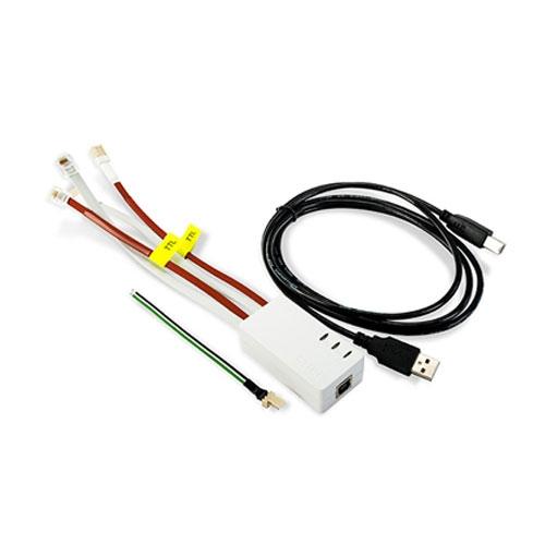Cablu de programare echipamente Satel USB-RS imagine spy-shop.ro 2021