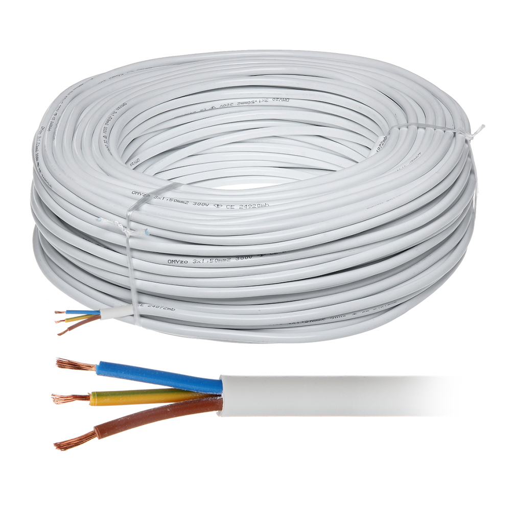 Cablu electric de alimentare MYYM 3X2,5 imagine spy-shop.ro 2021
