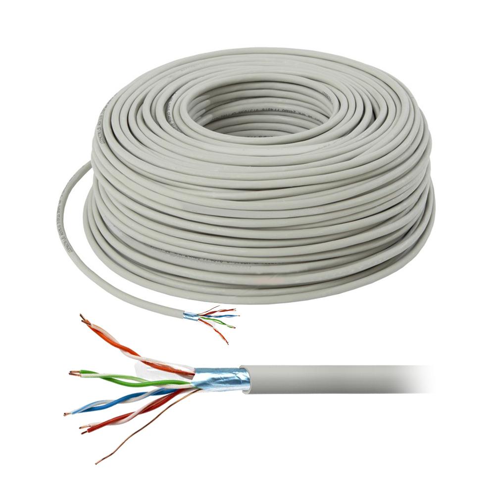 Cablu FTP CAT5E Cupru (100M) imagine spy-shop.ro 2021