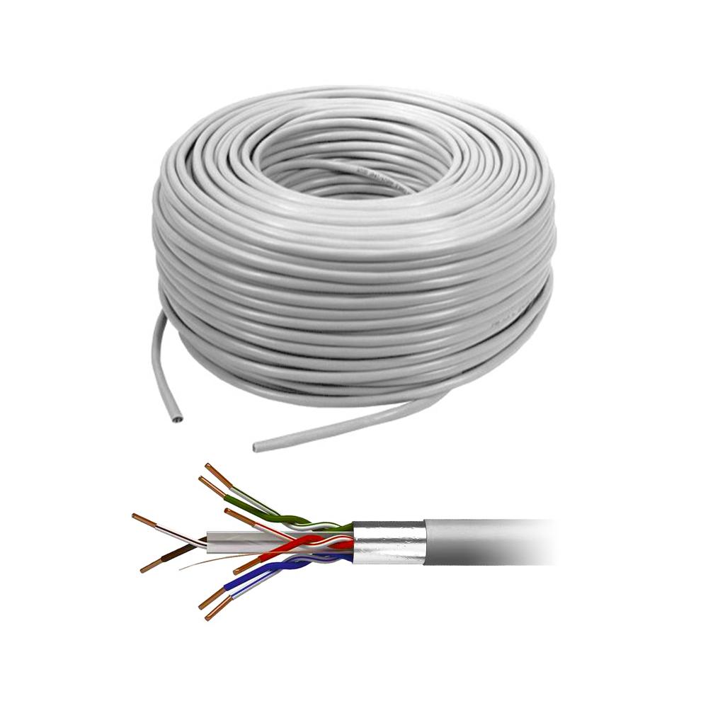 Cablu FTP CAT5E Cupru, rola 305 m imagine spy-shop.ro 2021