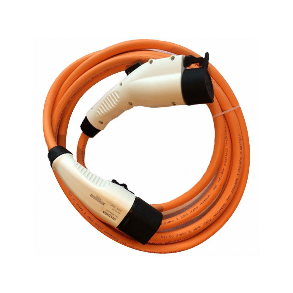 Cablu incarcare masini electrice Duosida T12/16P, Type 1 la 2, 3.6 kW, monofazat, 5 m imagine spy-shop.ro 2021