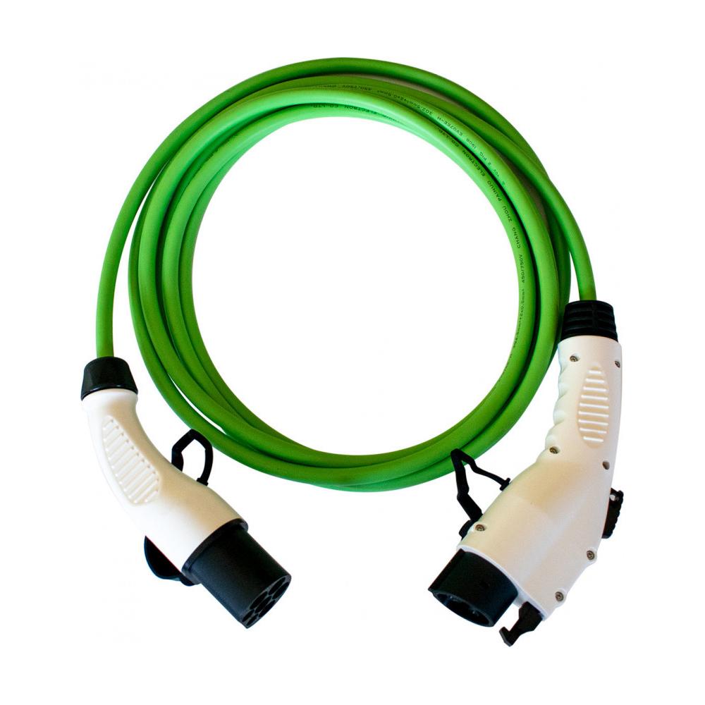 Cablu incarcare masini electrice Duosida T12/16V, Type 1 la 2, 3.6 kW, monofazat, 5 m imagine spy-shop.ro 2021