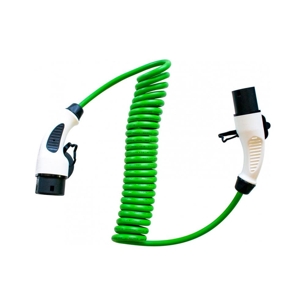 Cablu incarcare masini electrice Duosida T22-16SV, Type 2, 3.6 kW, monofazat, 5 m imagine spy-shop.ro 2021