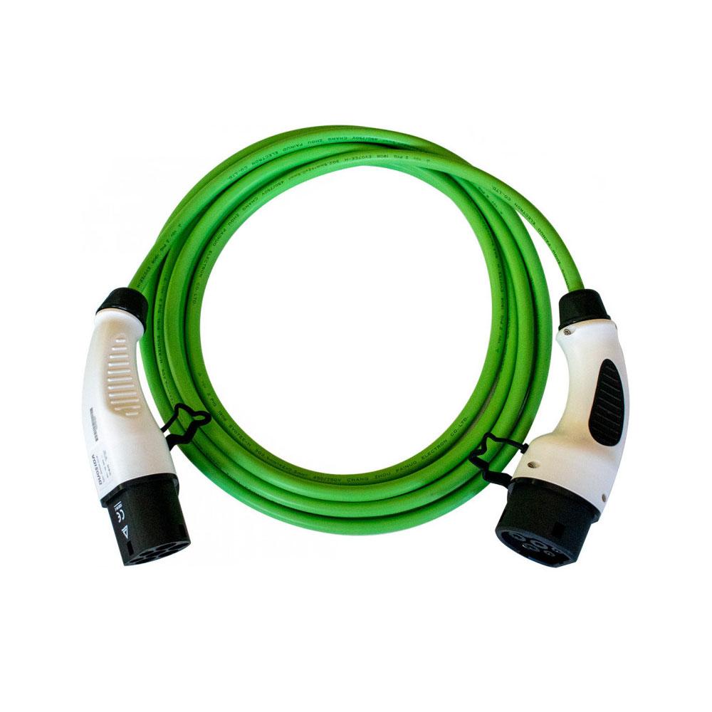 Cablu incarcare masini electrice Duosida T22/16V3, Type 2, 3.6 kW, monofazat, 3 m imagine spy-shop.ro 2021