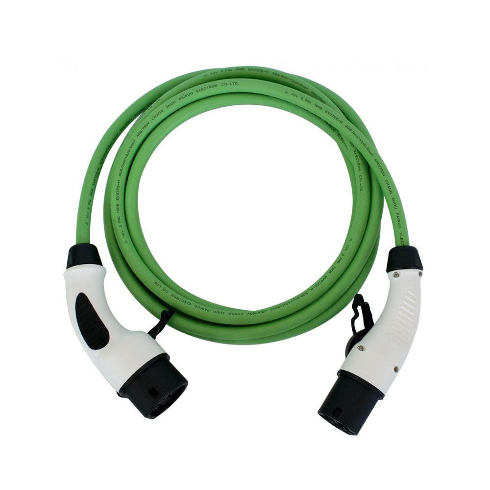 Cablu incarcare masini electrice Duosida T22-3/16V, Type 2, 11kW, trifazat, 5 m imagine spy-shop.ro 2021