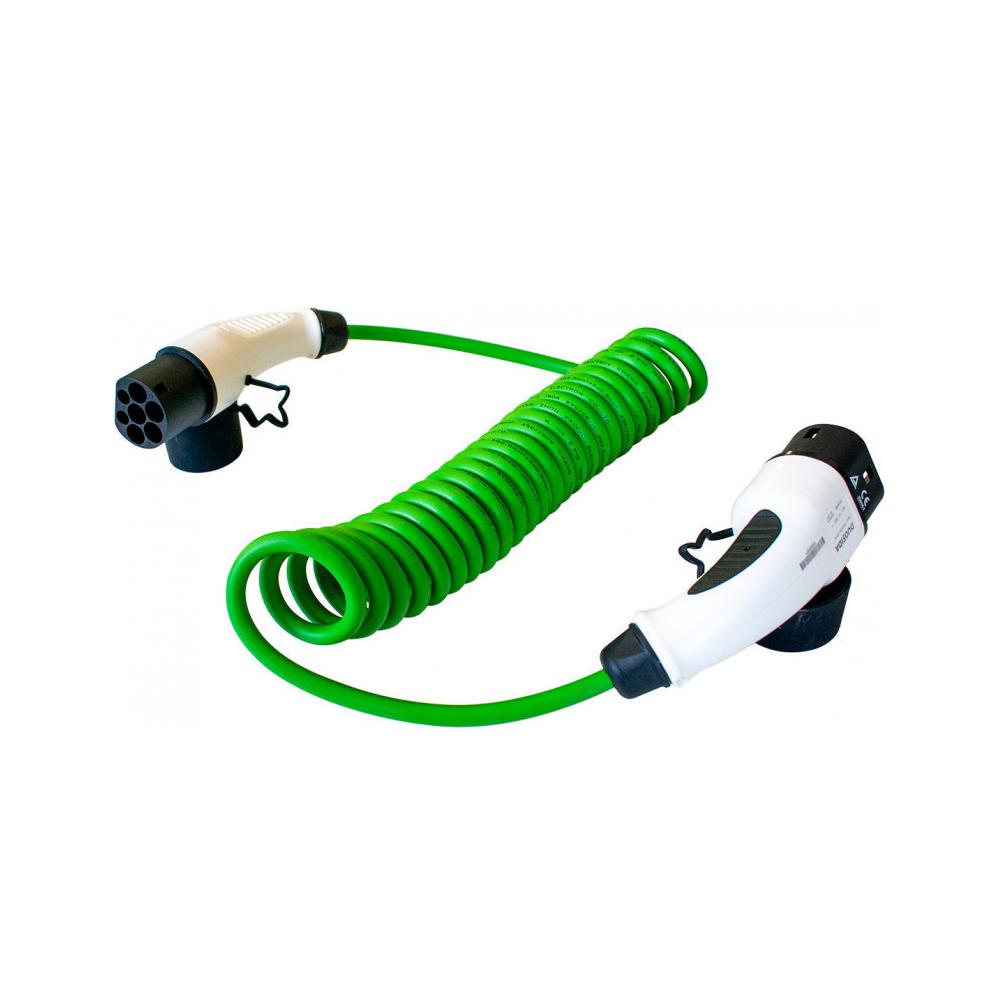 Cablu incarcare masini electrice Duosida T22/32SV, Type 2, 7 kW, monofazat, 5 m imagine spy-shop.ro 2021