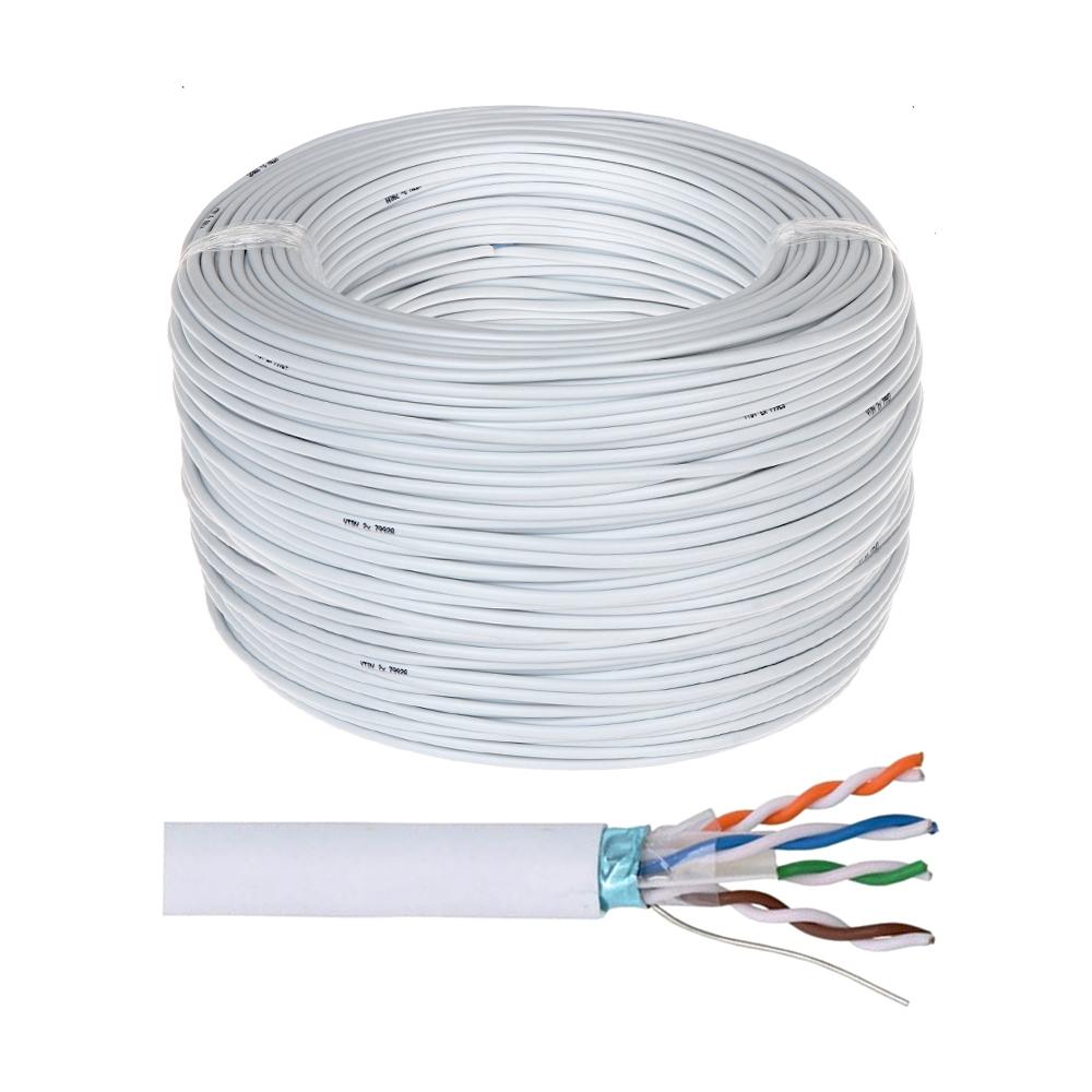 Cablu STP CAT5E Genway STP.01, cupru masiv, 305 m imagine spy-shop.ro 2021