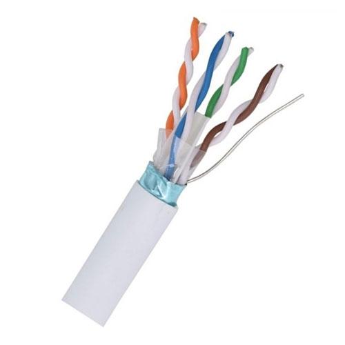 Cablu STP CAT5E Genway STP.01.50, cupru masiv, 50 m