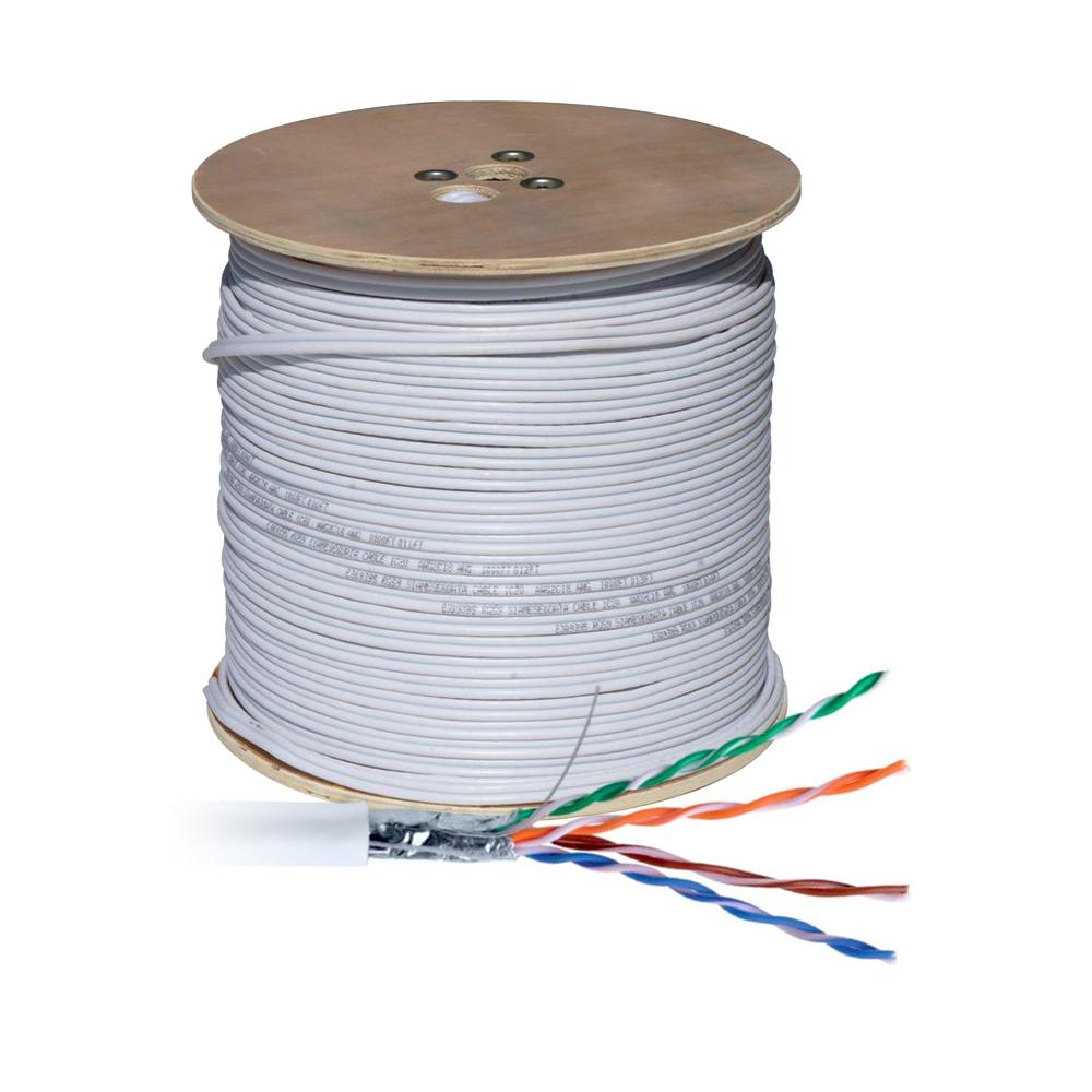 Cablu UTP CAT.5E, aluminiu cuprat, rola 305 m imagine spy-shop.ro 2021