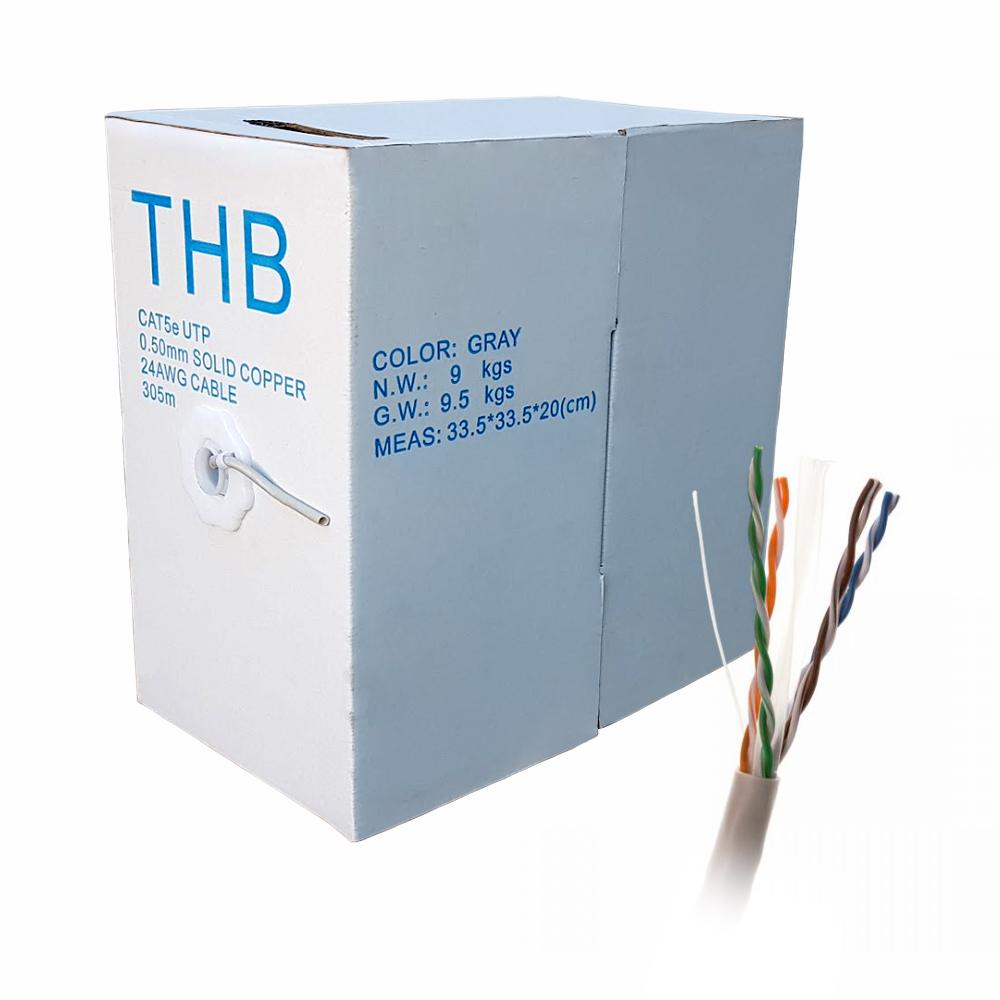 Cablu UTP CAT.5E Cupru (305M) imagine spy-shop.ro 2021