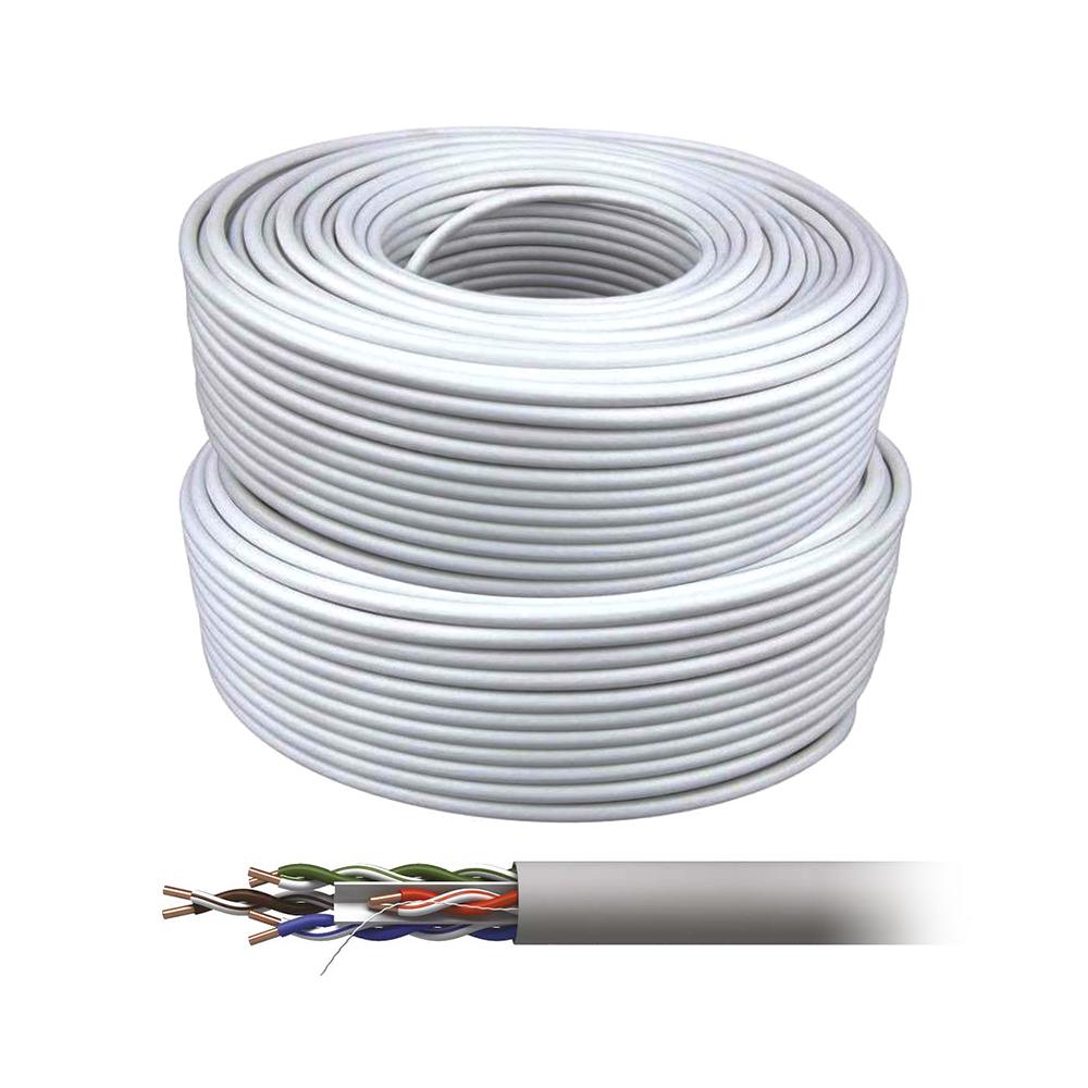 Cablu UTP cu alimentare UTP+2X0.8, cupru, pret / rola 305 m imagine spy-shop.ro 2021