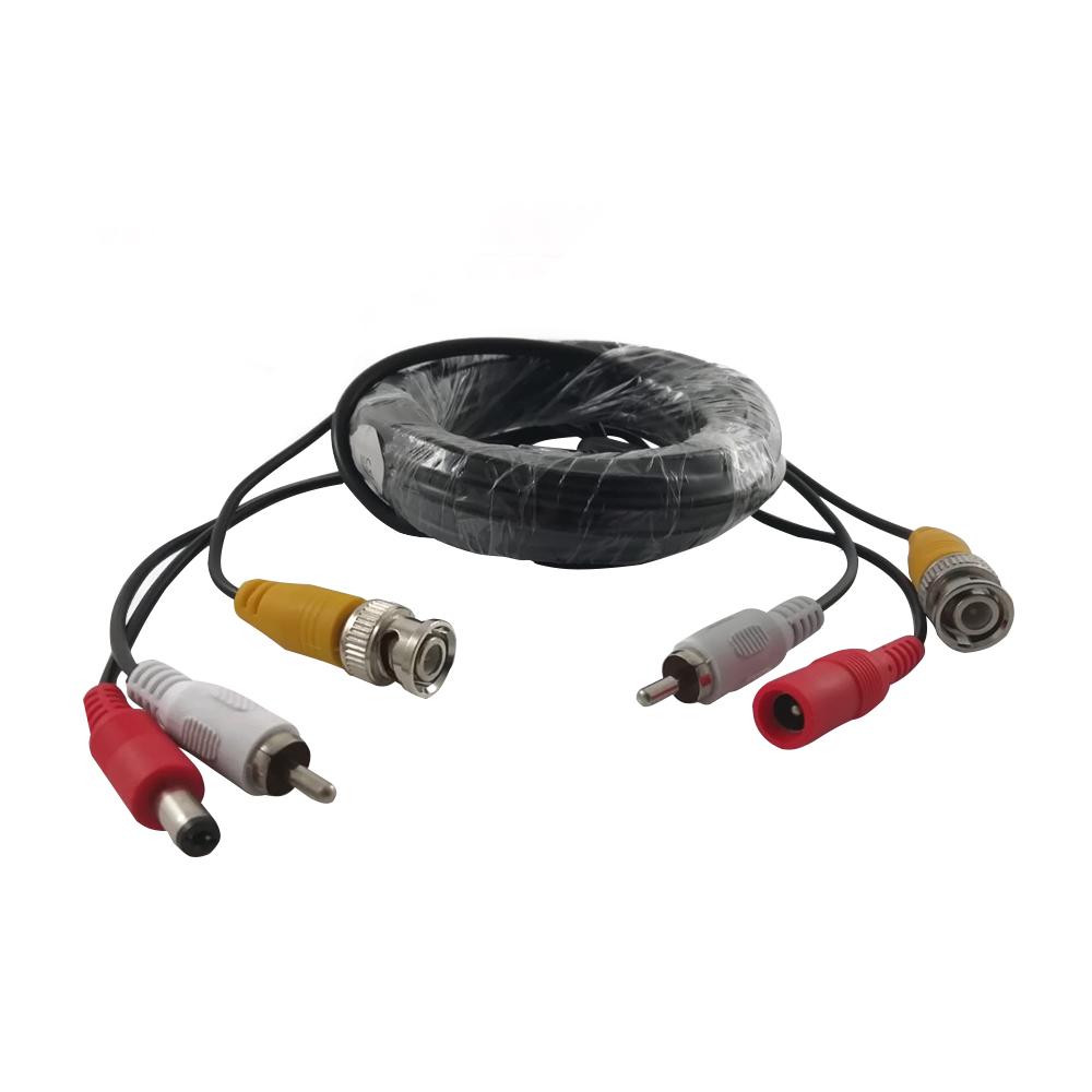 Cablu video mufat, 10 m (RCA+ALIMENTARE) imagine spy-shop.ro 2021