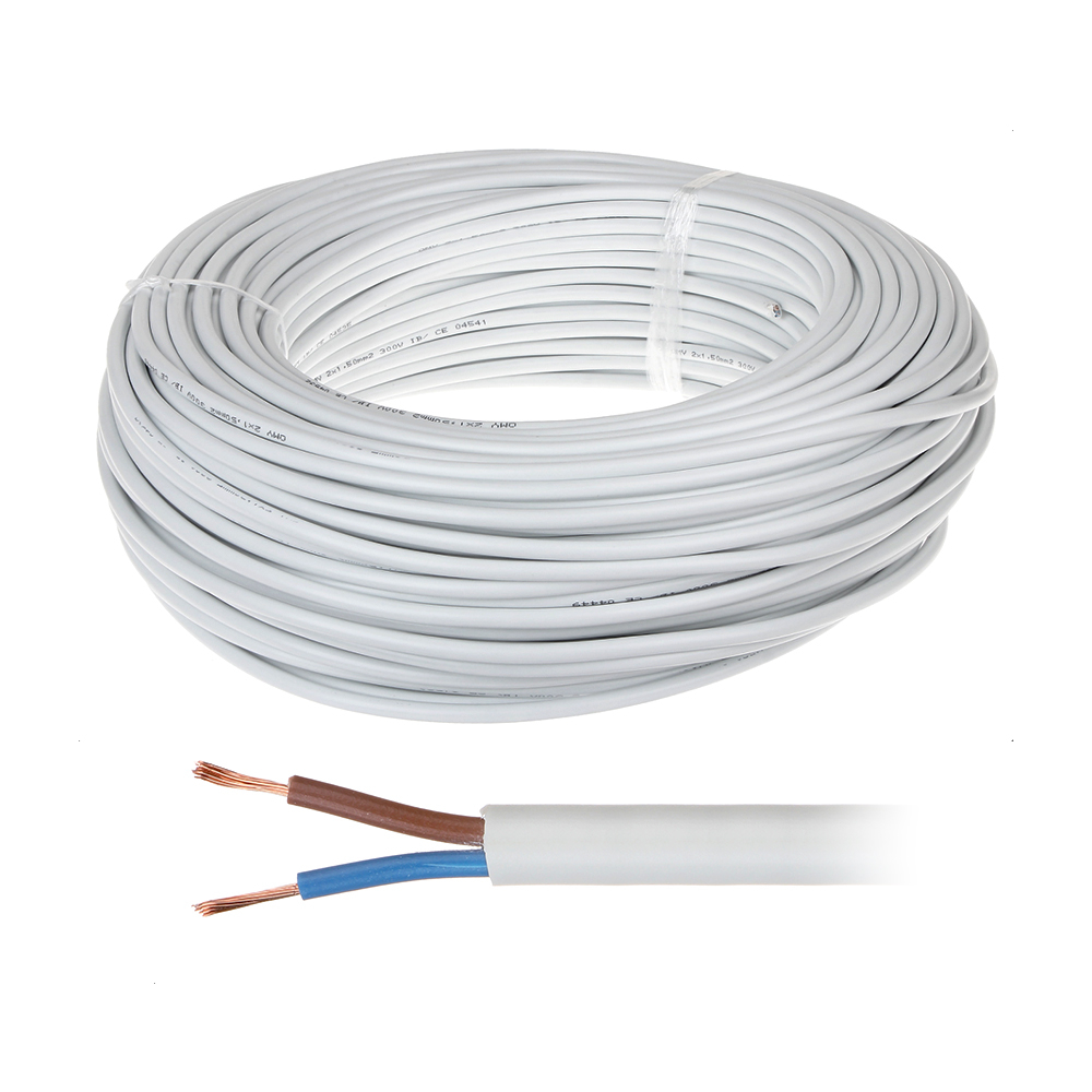 Cablu de alimentare MYYM 2x2.5 (100M), rotund bifilar litat imagine spy-shop.ro 2021