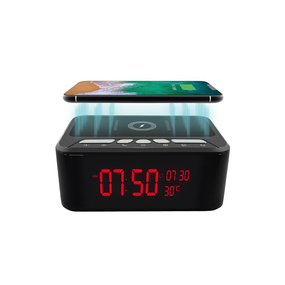 Camera ascunsa in boxa portabila cu incarcator wireless Aishine AI-IP019, Wi-Fi, 2 MP, IR 6 m, slot card