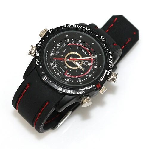Ceas de mana cu camera video HD - Sport Edition imagine spy-shop.ro 2021