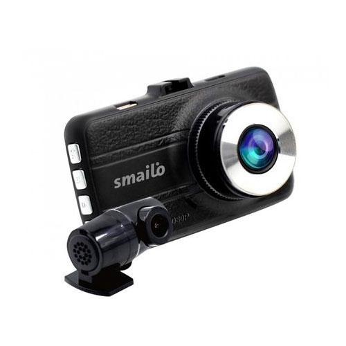 Camera auto duala cu DVR Smailo DoubleX, 3 MP, detectia miscarii imagine spy-shop.ro 2021