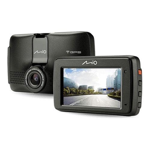 Camera auto cu GPS si WiFi Mio MiVue 733 MIVUE733W, Full HD, 30 FPS, 128GB imagine spy-shop.ro 2021