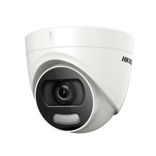 Camera de supraveghere Dome Hikvision ColorVu DS-2CE72DFT-F, 2 MP, 3.6 mm, lumina alba 20 m imagine spy-shop.ro 2021