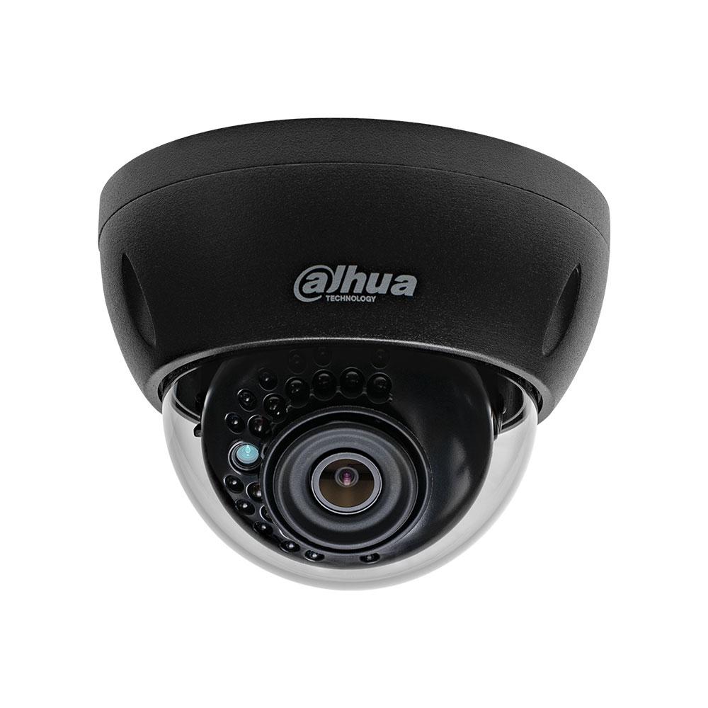 Camera de supraveghere IP Dome Dahua IPC-HDBW1230E-0280B-BLACK, 2 MP, IR 30 m, 2.8 mm imagine spy-shop.ro 2021