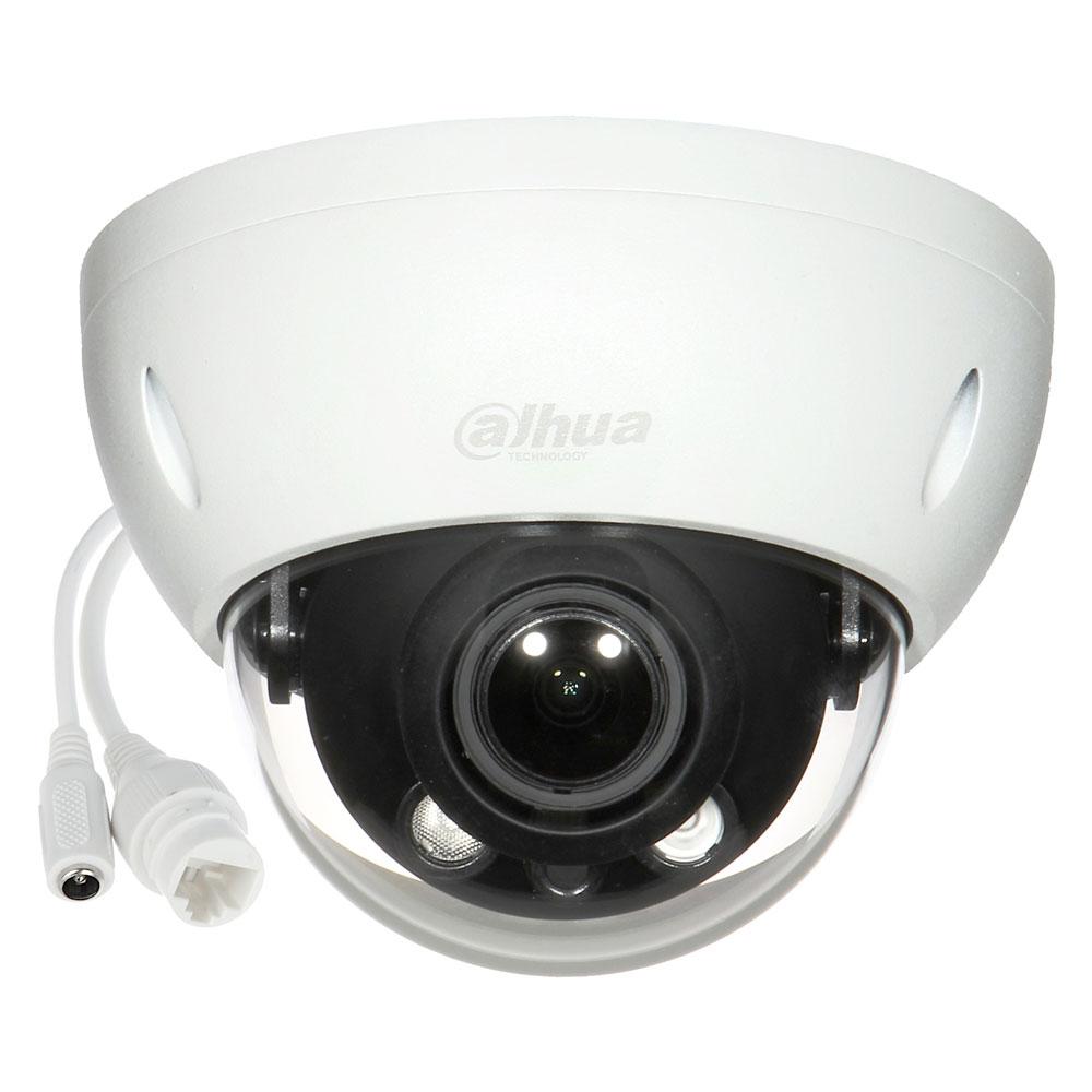 Camera de supraveghere IP Dome Dahua IPC-HDBW1431R-ZS-2812-S4, 4 MP, IR 40 m, 2.8 - 12 mm, motorizat imagine spy-shop.ro 2021