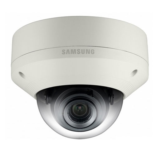 Camera supraveghere Dome IP Samsung SNV-5084, 1.3 MP, IP66, IK10, 3 - 8.5 mm