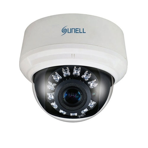 Camera supraveghere Dome IP Sunell SN-IPD54/31XDR, 3 MP, IR 15 m, 3.3 - 12 mm