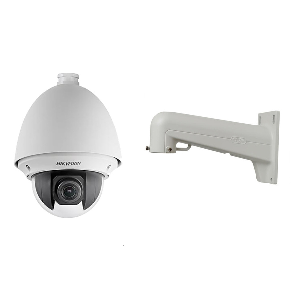 Camera de supraveghere Speed Dome IP Hikvision Ultra Low Light DS-2DE4225W-DE, 2 MP, 4.8 - 120 mm, 25X + suport