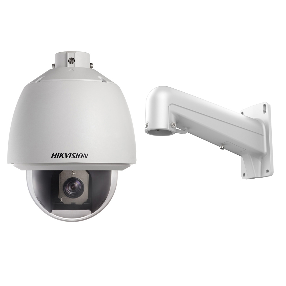 Camera supraveghere Speed Dome Hikvision TurboHD DS-2AE5230T-A, 2 MP, 4 - 120 mm, 18x + Suport