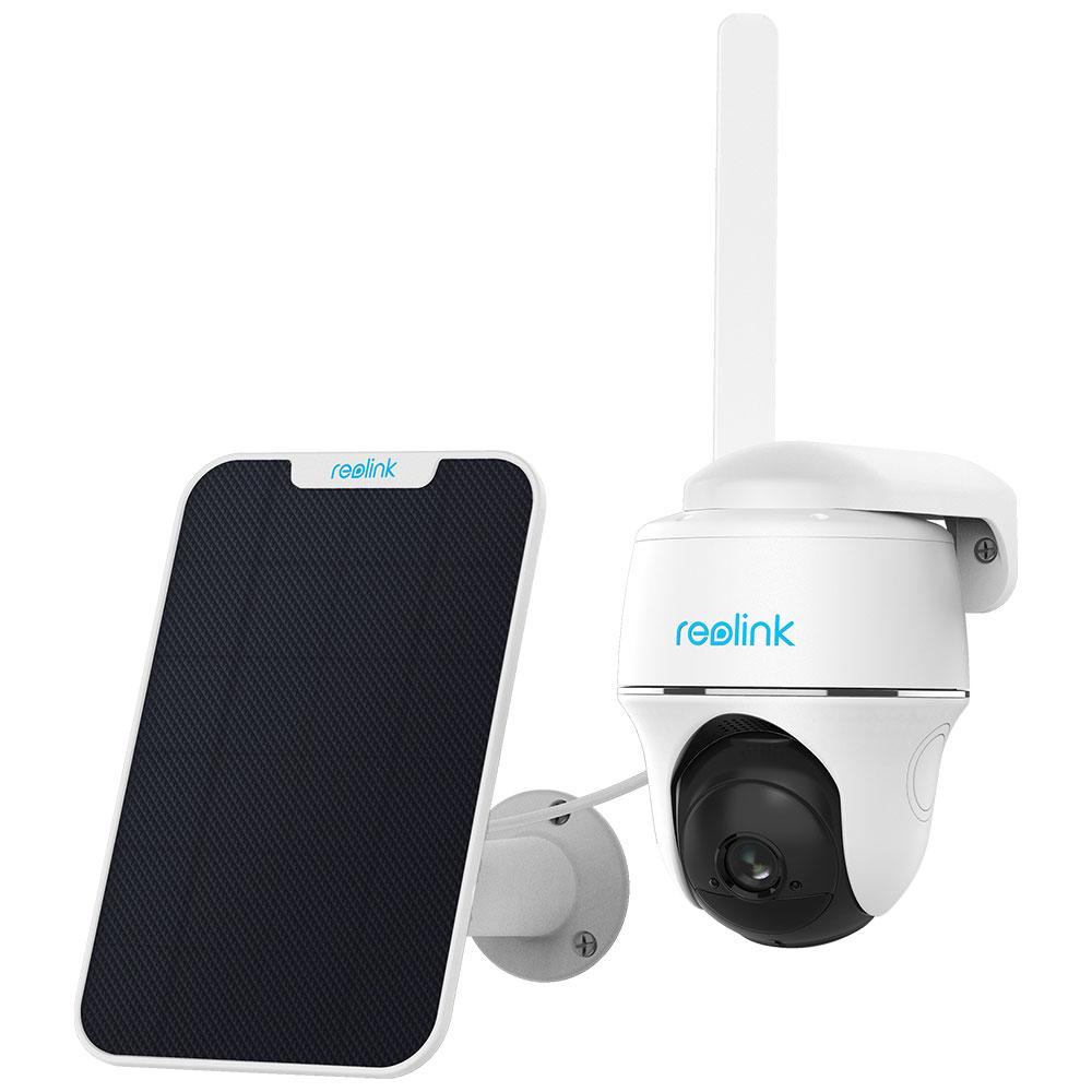 Camera de supraveghere wireless Speed Dome PT Reolink Starlight Go PT, 2 MP, GSM 4G, microfon, slot card + panou solar
