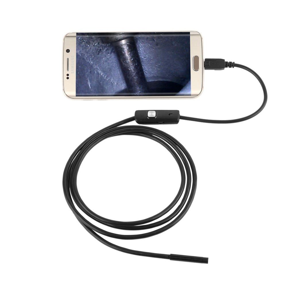 Camera endoscopica SS-MC13S, 2 m, diametru 5.5 mm, VGA imagine spy-shop.ro 2021