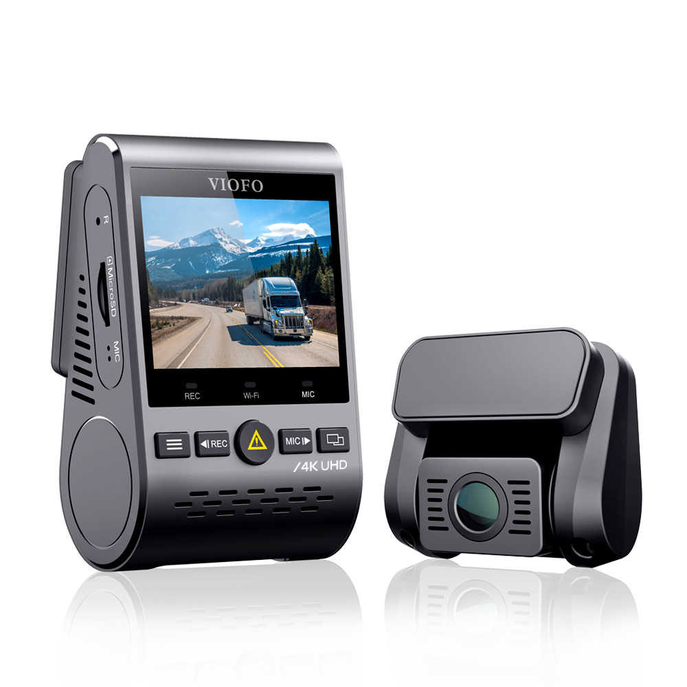 Camera pentru masina VIOFO A129 Pro Duo, 4K, WiFi, detectia miscarii imagine spy-shop.ro 2021