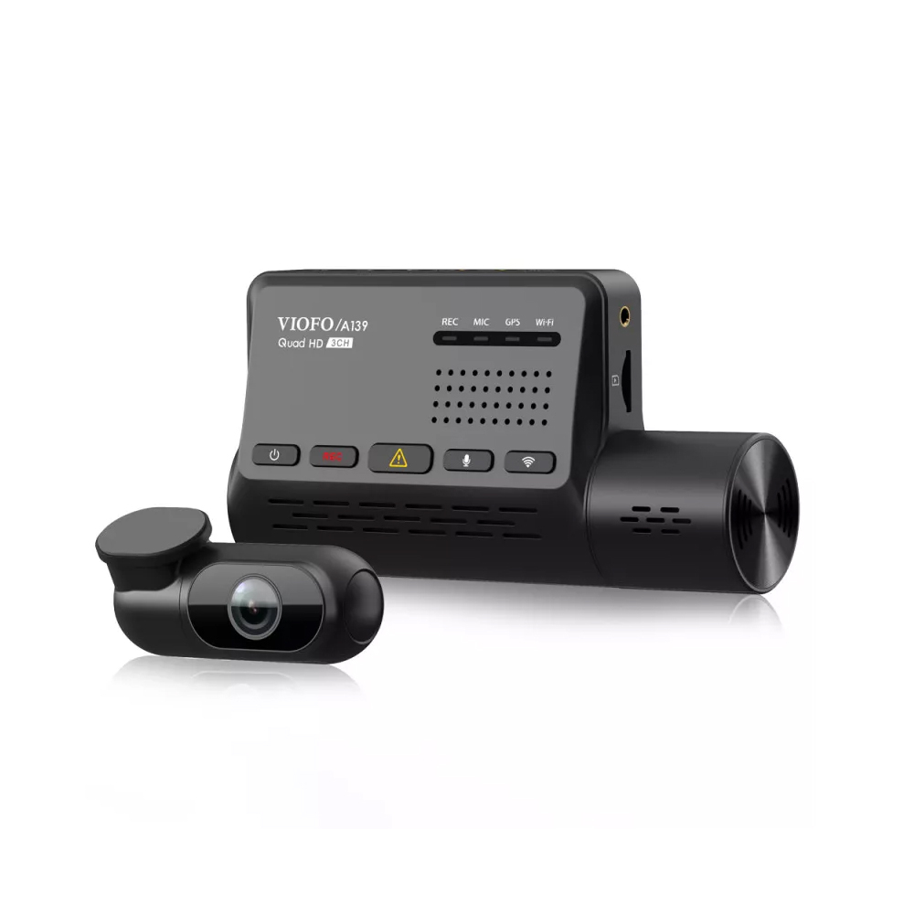 Camera pentru masina Viofo A139, 2K, WiFi, GPS Logger, microfon, slot card