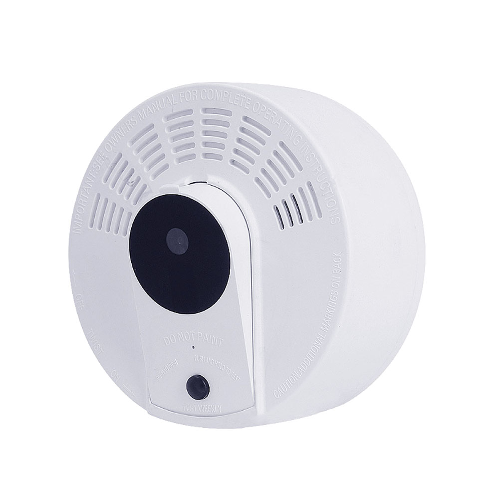 Camera spion disimulata in detector de fum Aishine AI-LS008, WiFi, 2 MP, IR 5 m, PIR 5 m, standby 1 an, detectia miscarii, microfon, slot card imagine spy-shop.ro 2021