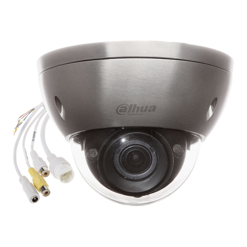 Camera supraveghere anticoroziune IP Dome Dahua Starlight IPC-HDBW8232E-ZH-SL, 2 MP, 4.1-16.4 mm, IR 50 m, motorizat, slot card imagine spy-shop.ro 2021