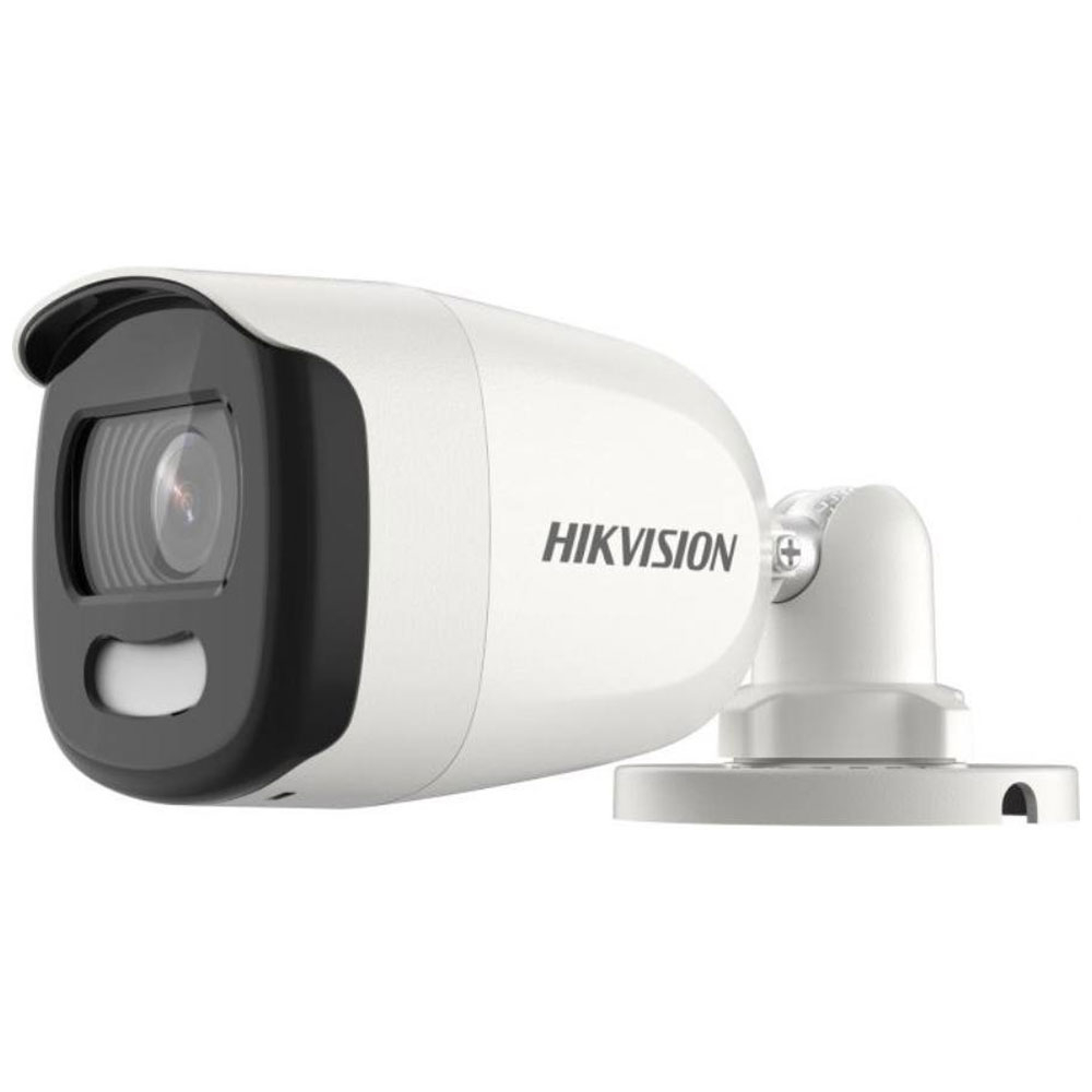 Camera supraveghere exterior Hikvision ColorVu DS-2CE10HFT-F, 5 MP, 3.6 mm imagine spy-shop.ro 2021