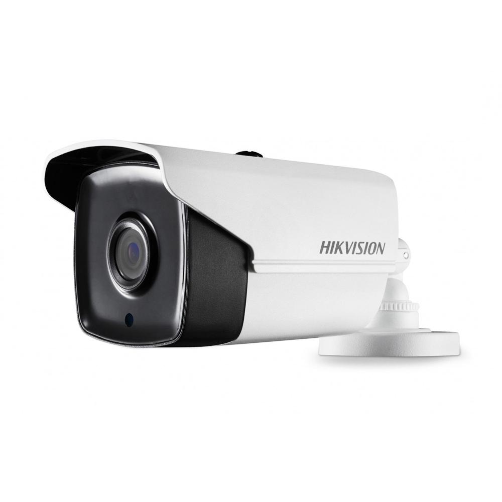 Camera supraveghere exterior Hikvision POC TurboHD DS-2CE16H1T-IT5E, 5 MP, IR 80 m, 3.6 mm