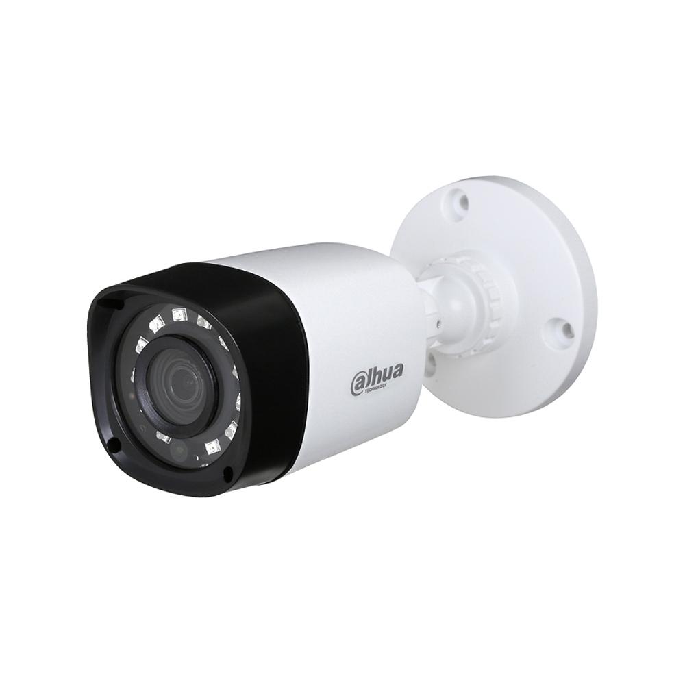 Camera supraveghere exterior Dahua HDCVI HAC-HFW1400R, 4 MP, IR 20 m, 2.8 mm