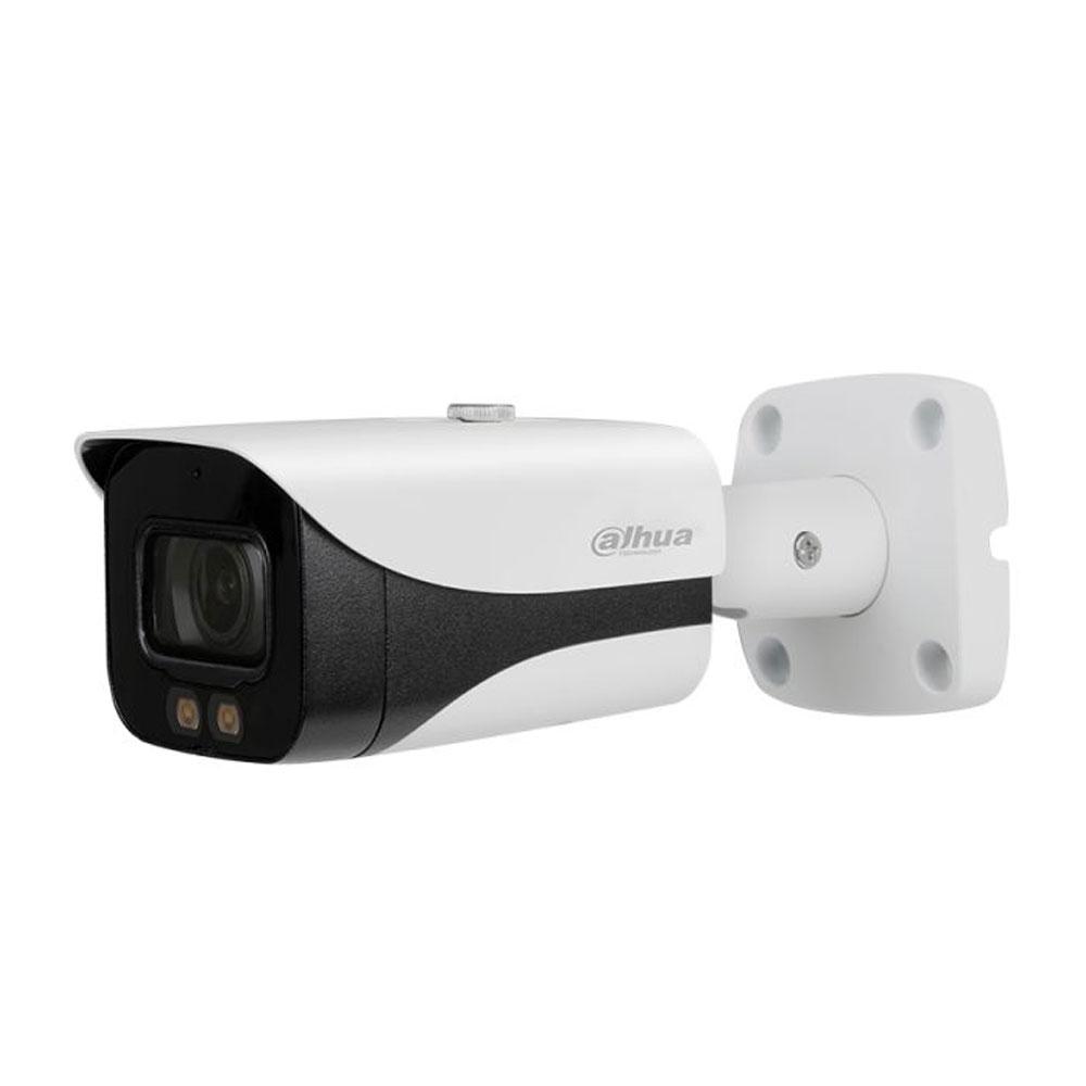 Camera supraveghere de exterior Dahua Starlight Full Color HAC-HFW2249E-A, 2 MP, lumina alba 40 m, 3.6 mm, microfon