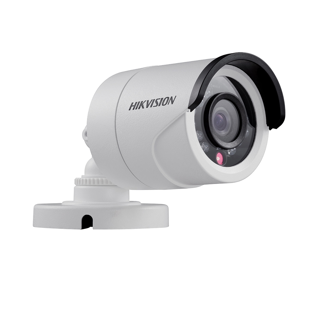 Camera supraveghere exterior Hikvision TurboHD DS-2CE16C0T-IRPF, 1 MP, IR 20 m, 2.8 mm
