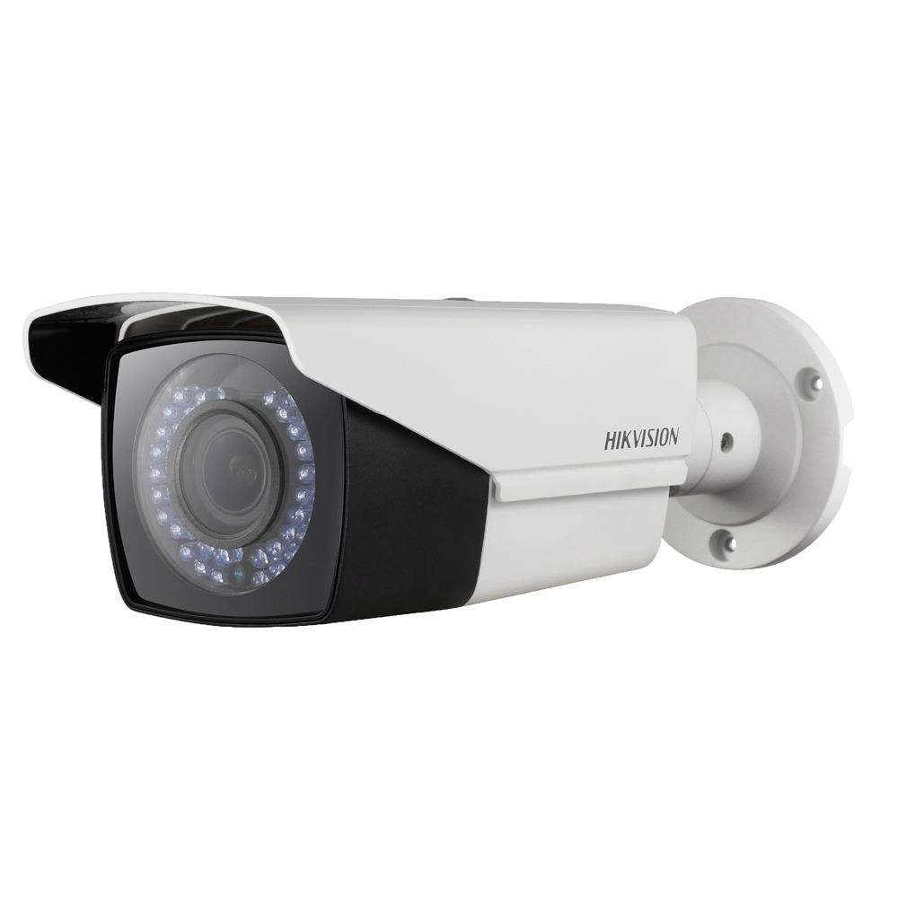 Camera supraveghere exterior Hikvision TurboHD DS-2CE16C0T-VFIR3F, 1 MP, IR 40 m, 2.8 - 12 mm